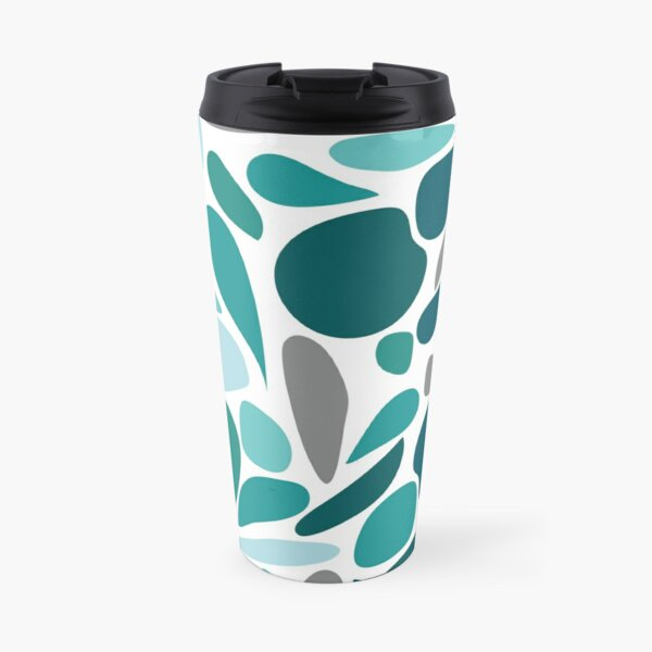 Blue Water Drop Mug isotherme