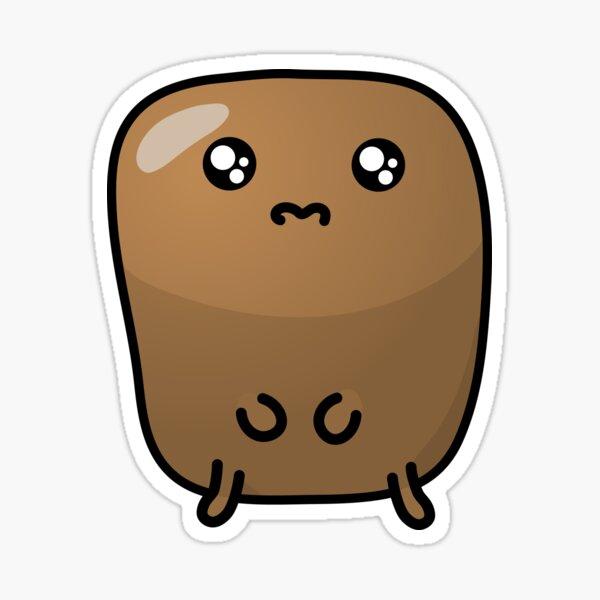 Jagaimo The Potato - Missing You! Sticker