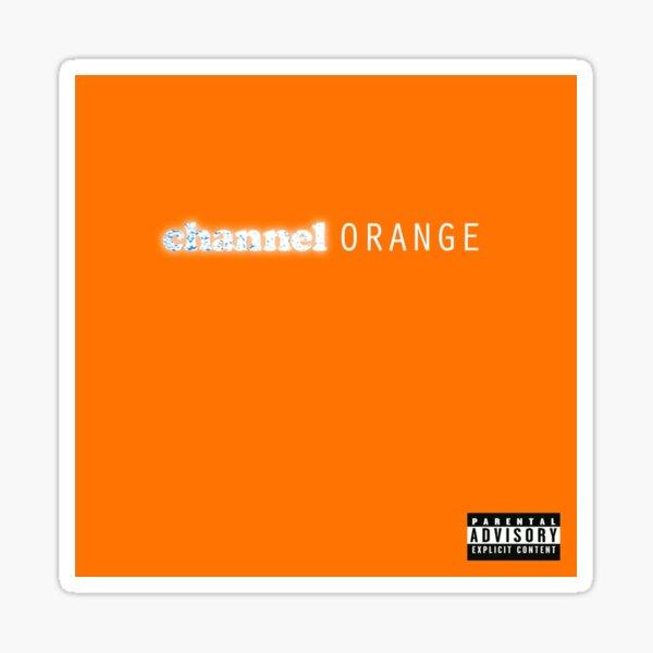 Canal Naranja- Frank Ocean Pegatina