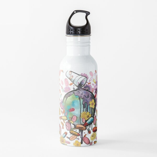 1998-2019 Juice Wrld RIP Water Bottle