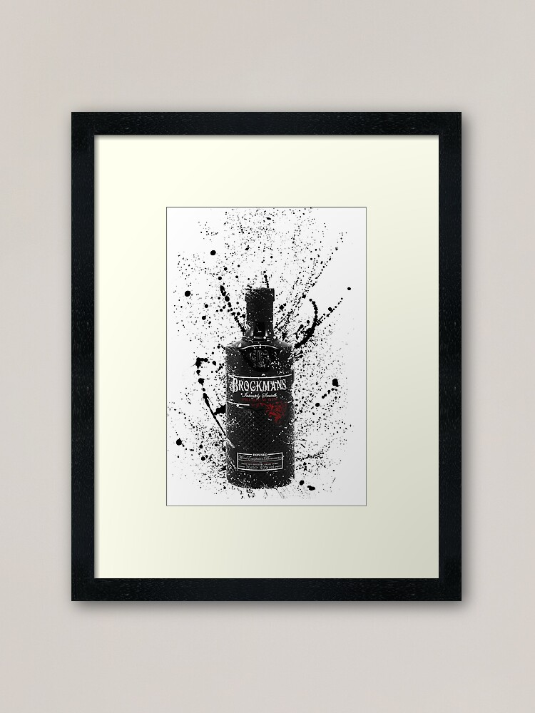 Alternate view of Brockmans Gin Framed Art Print