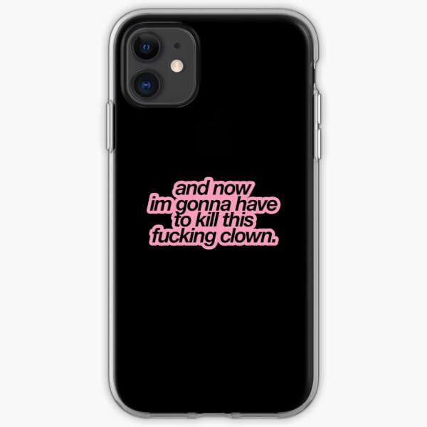 im gonna have to kill this clown richie tozier iPhone Soft Case