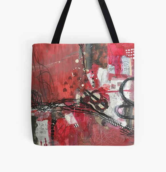 History of Flamenco All Over Print Tote Bag