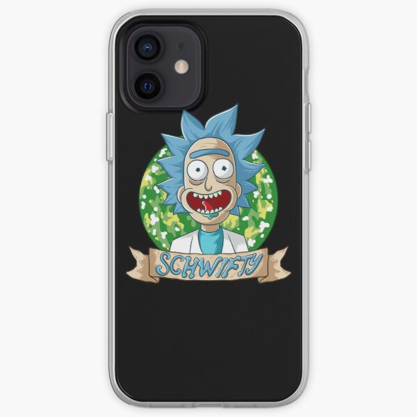 rick and morty get schwifty iPhone Soft Case