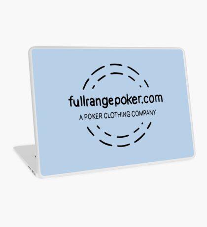 Full Range Poker logo Laptop Skin