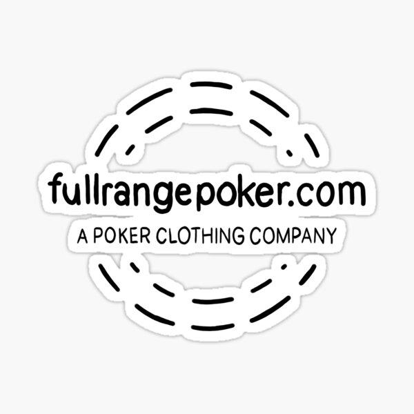 Full Range Poker logo Sticker