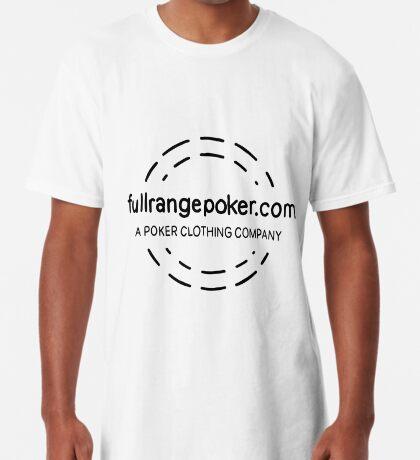 Full Range Poker logo Long T-Shirt