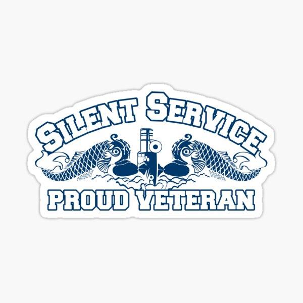 Silent Service - Proud Veteran Sticker
