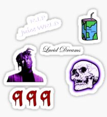 Juice WRLD Sticker Pack Sticker