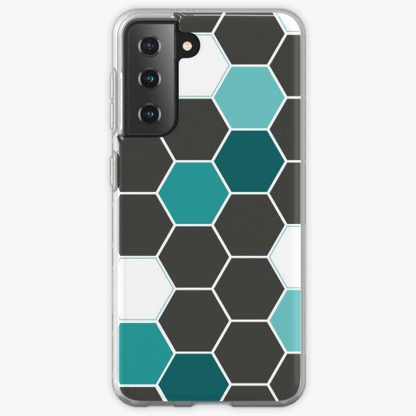 Bee Geometry  Coque souple Samsung Galaxy