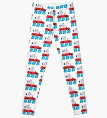 BRB Unicorn Emoji JoyPixels Be Right Back Leggings