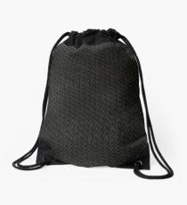 Snake Skin - Dark Grey Drawstring Bag