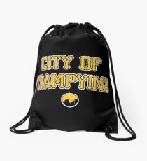 City of Champyinz Drawstring Bag