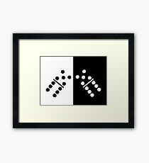 Dominoes Framed Print