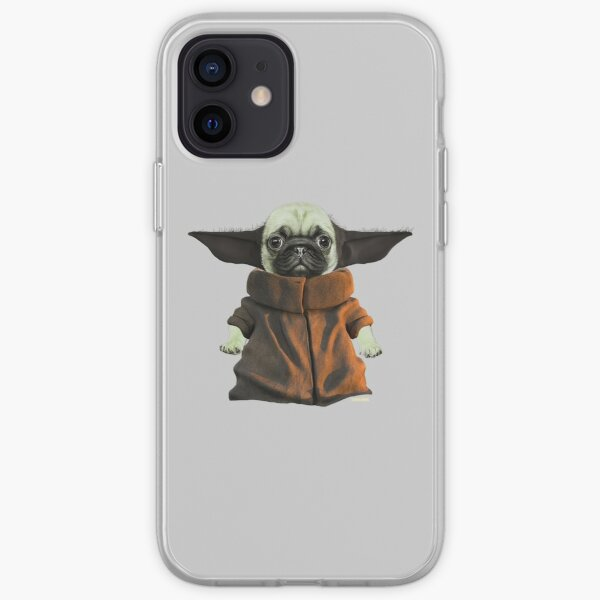 Baby Pugda iPhone Soft Case