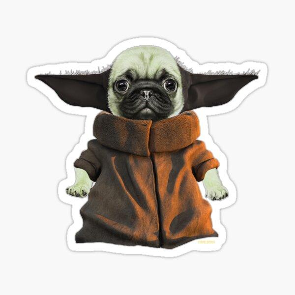 Baby Pugda Sticker