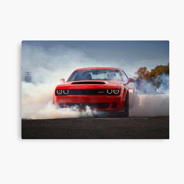 Dodge Challenger SRT Demon Canvas Print