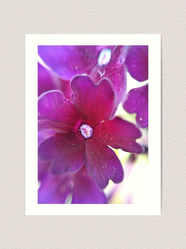 Alternate view of Purple Flower Art Print