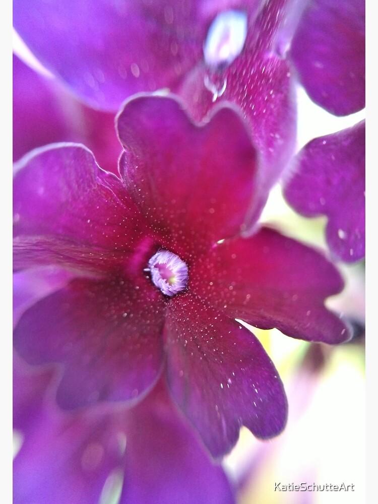 Purple Flower by KatieSchutteArt