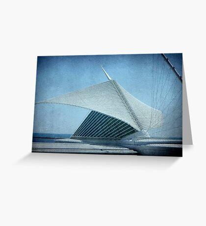 MAM...Milwaukee Art Museum...Wisconsin ©  Greeting Card