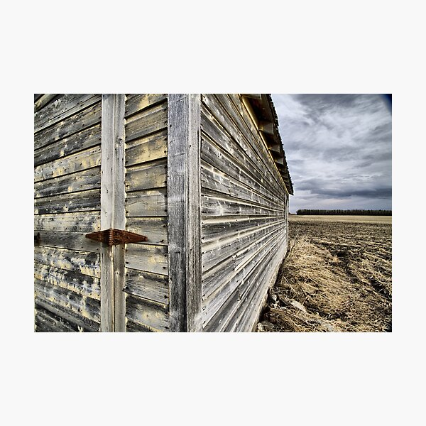 hinge-lineation-horizon Photographic Print