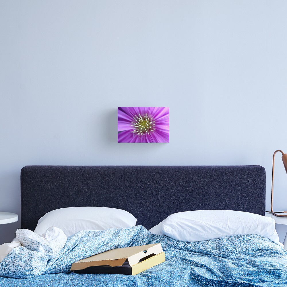 Purple Sun Canvas Print