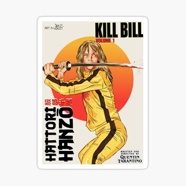 KILL BILL VOL 1 Sticker