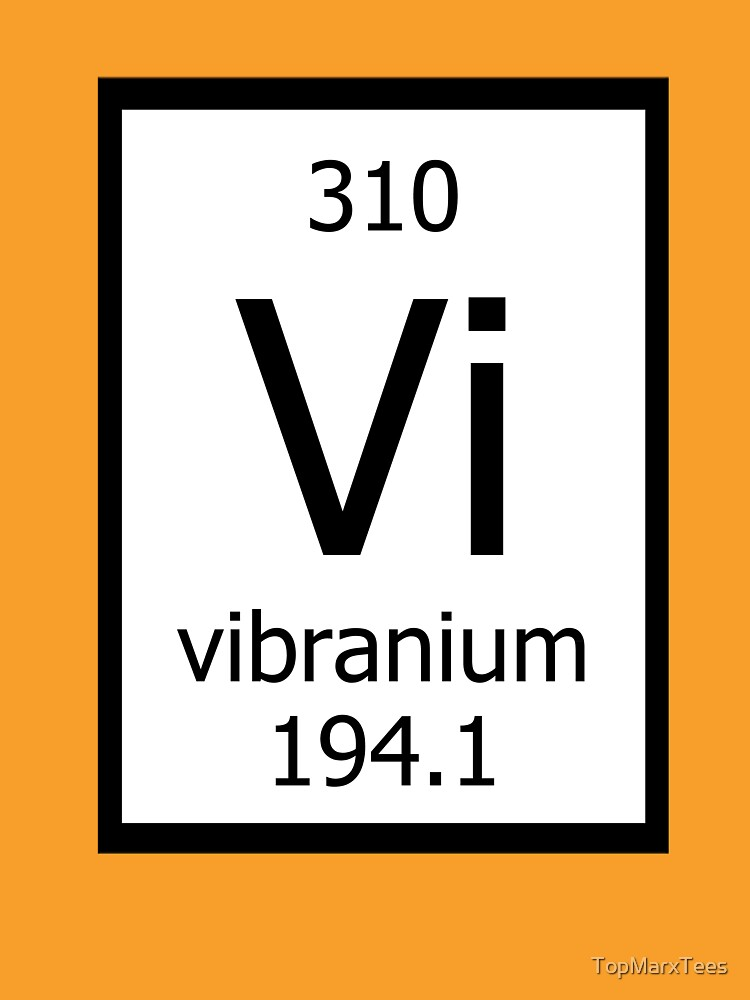 Vibranium de TopMarxTees
