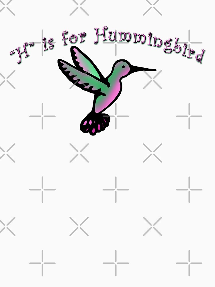 H is for Hummingbird by amyelyse