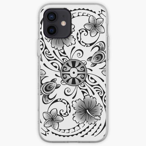 Polynesian tatto art iPhone Soft Case