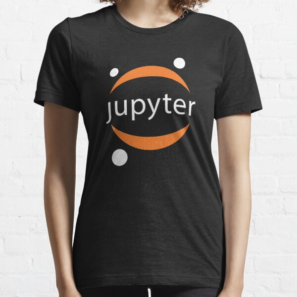 Jupyter white logo Essential T-Shirt