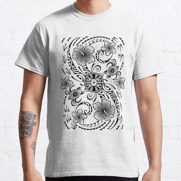 Polynesian tatto art Classic T-Shirt