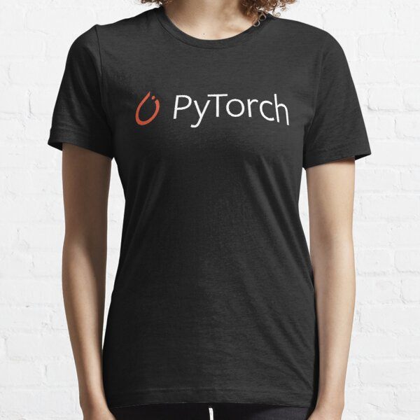 Pytorch white logo Essential T-Shirt