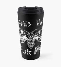Death's Head Hawk Moth Travel Mug