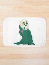 Endearing Skull Monster Bath Mat