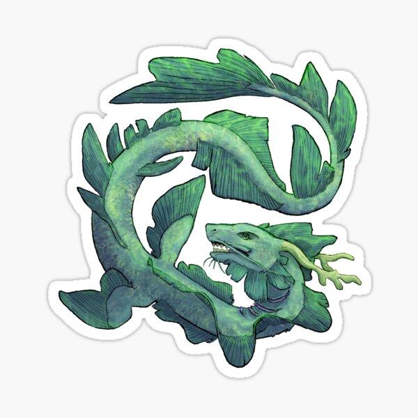 Sea Serpent Sticker