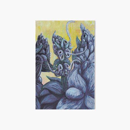 Floral Hellscape III Art Board Print