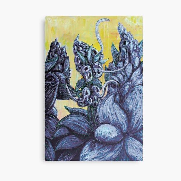 Floral Hellscape III Canvas Print