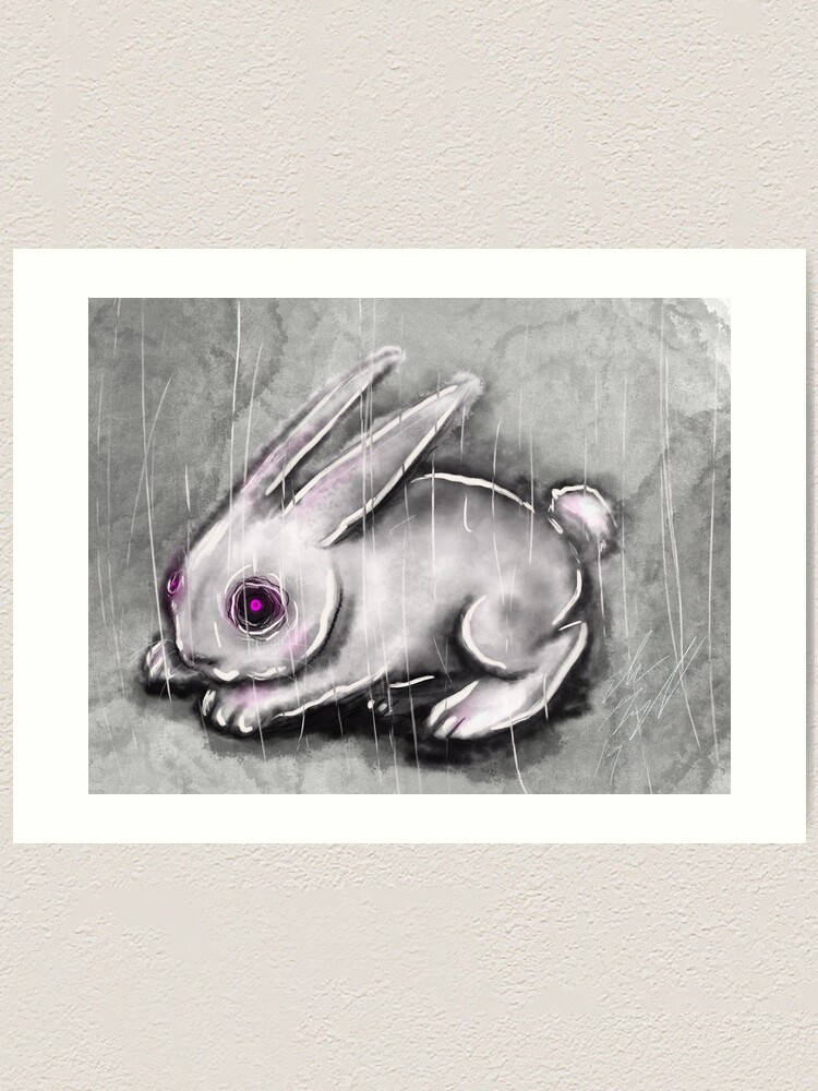 Alternate view of Bunny Art Print