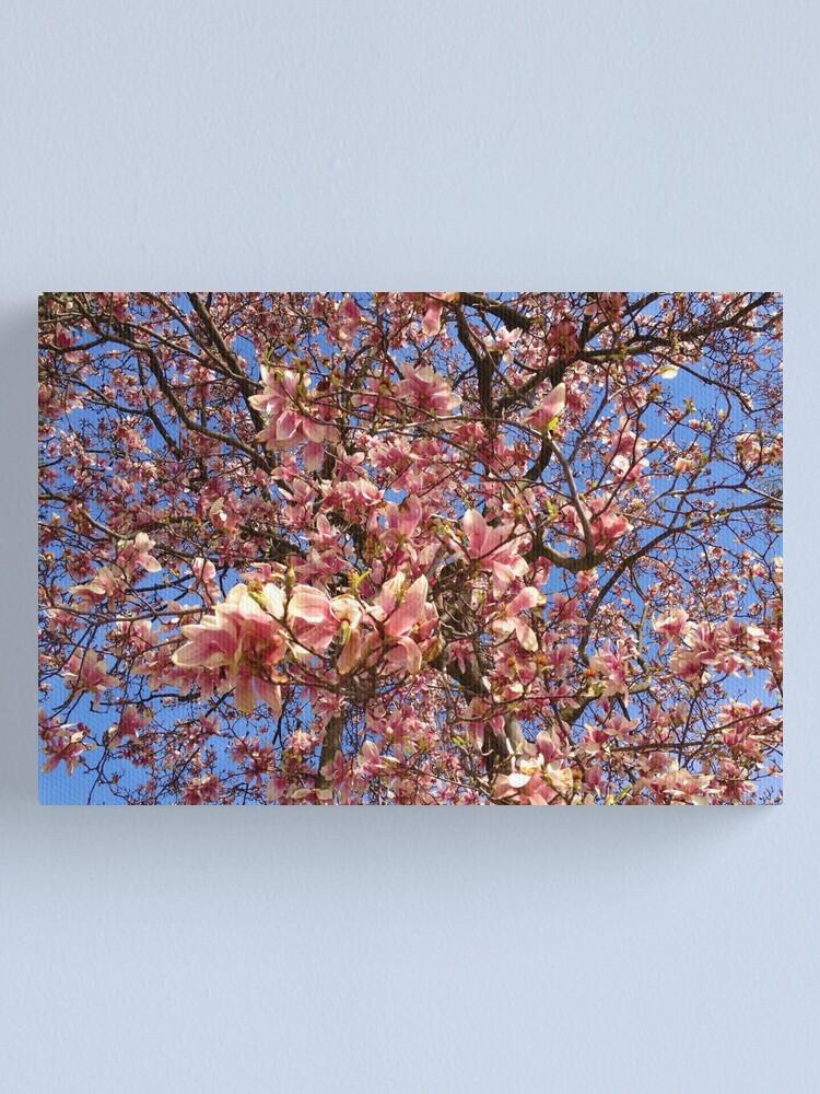 Alternate view of Spring Tree Canvas Print