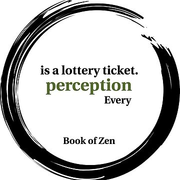 Quote About Reality & Perception by bookofzen