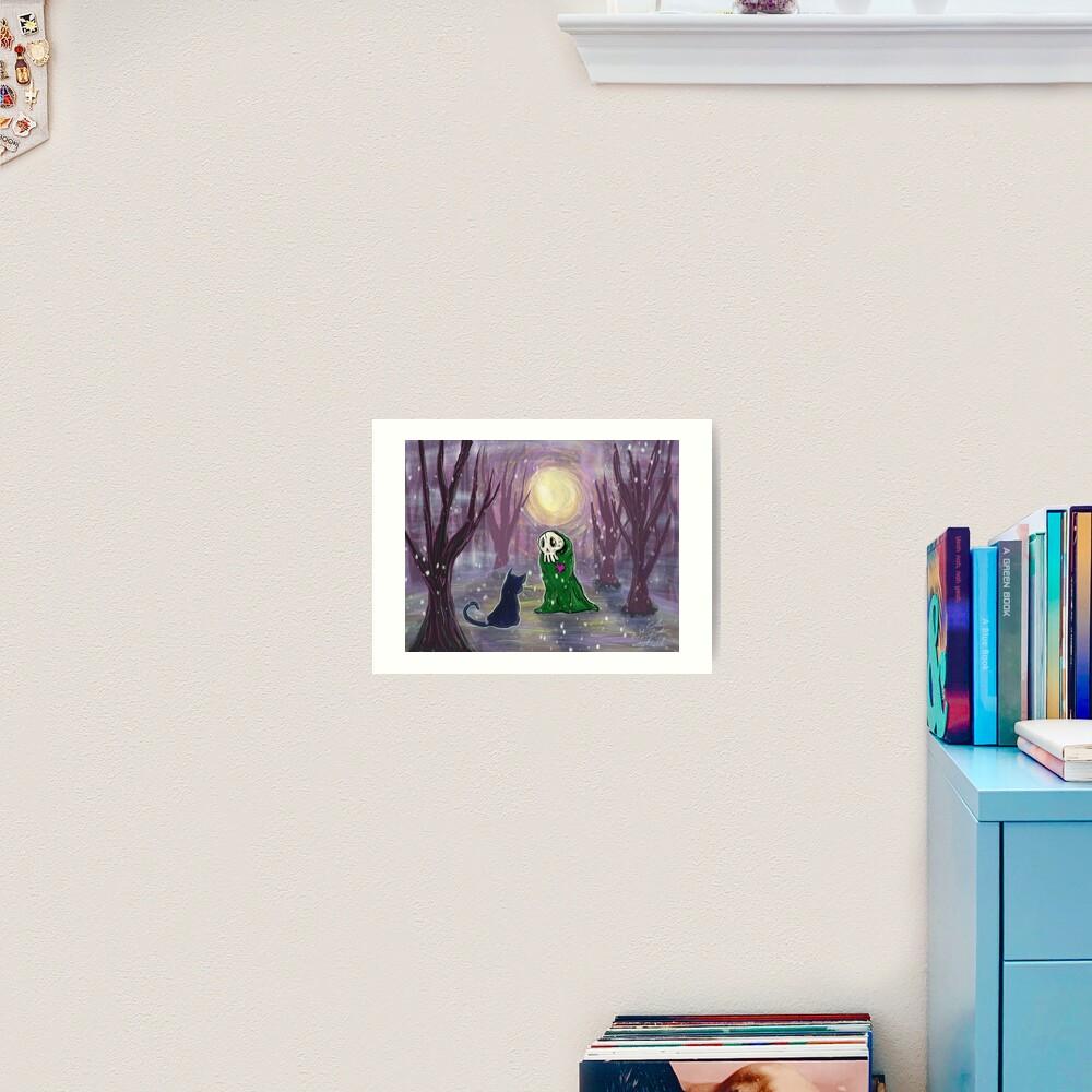 Encounter Art Print