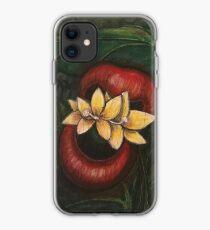 Floral Hellscape V iPhone Case