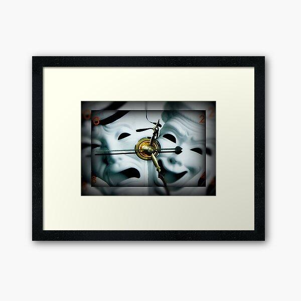 Tick Tock Tick Tock ©  Framed Art Print