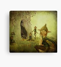 The Brownies Canvas Print