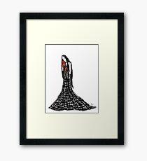 Madame Whyyy- Princess Monster Hands Framed Print