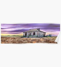Burra Homestead Panorama Poster