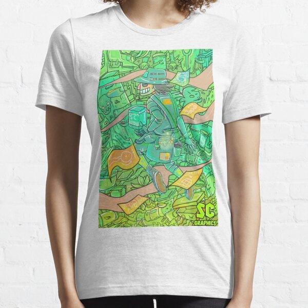 Midnight Creator Artistic Kiss-Cut Stickers - SCGC x Jerusalem Ace Essential T-Shirt