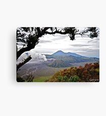 Mount Bromo Canvas Print