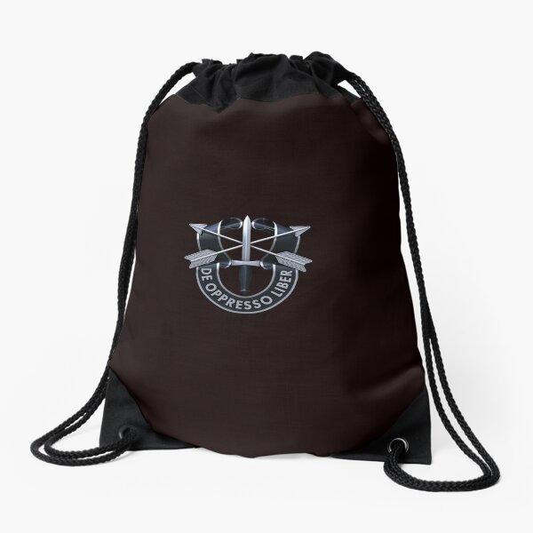 Special Forces Crest Drawstring Bag